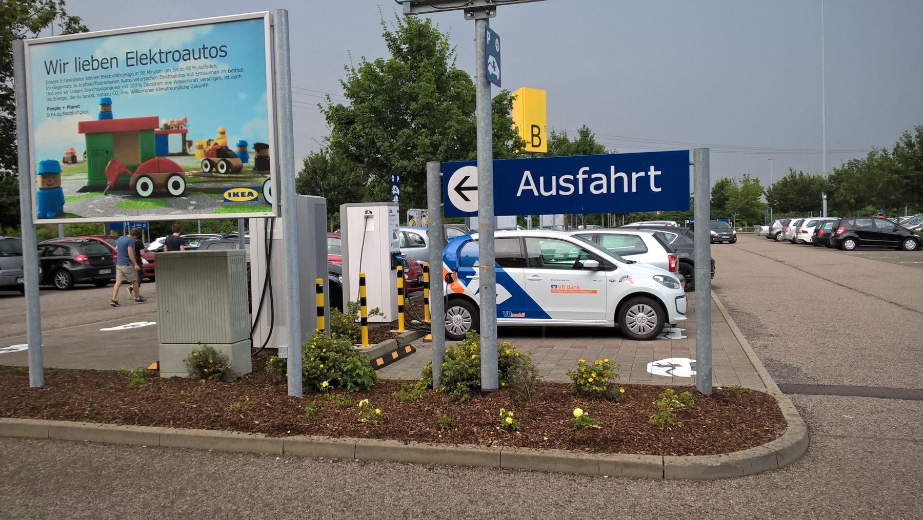 elektroauto ladestation in augsburg b17 ikea deutschland. Black Bedroom Furniture Sets. Home Design Ideas