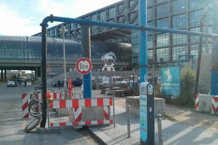 Stationsfoto Hauptbahnhof Berlin