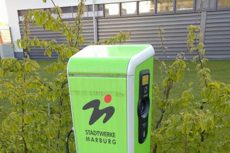 Stationsfoto Ladesäule der Stadtwerke Marburg GmbH 2