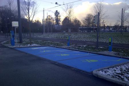 Stationsfoto P+R Parkplatz Friedberg-West 0