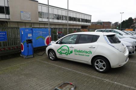 Stationsfoto Schnellladestation - WSW Energie & Wasser AG 1