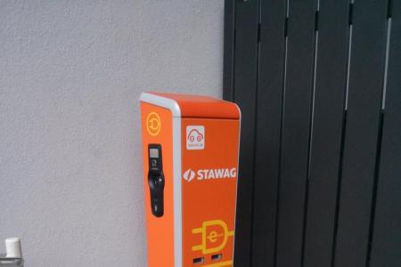 Stationsfoto Franzstraße Stadtwerke Aachen AG
