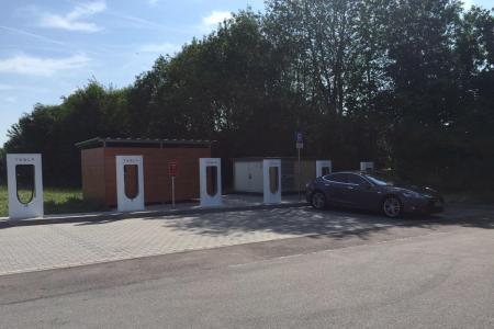 Stationsfoto Aichstetten Supercharger 0