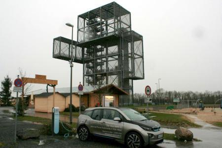 Stationsfoto Indemann Parkplatz - Inden 0