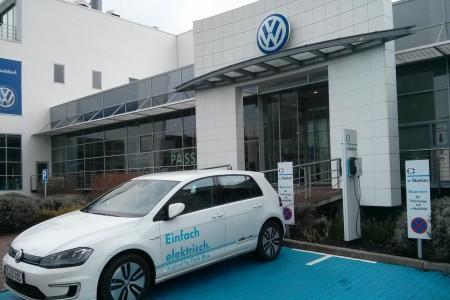 Stationsfoto Volkswagen Zentrum Düsseldorf